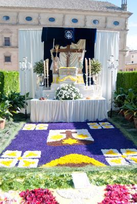 PRIMER PREMIO DE ALTARES EN EL CORPUS