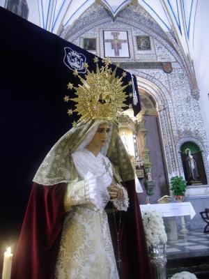 NOCHE SOLEMNE EN TORNO A MARÍA DE LA AMARGURA